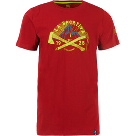 La Sportiva Hipster T-shirt Herrer, rød